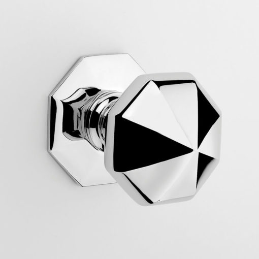 Frank Allart | Facetted Centre Door Knob | Gregory Croxford Living