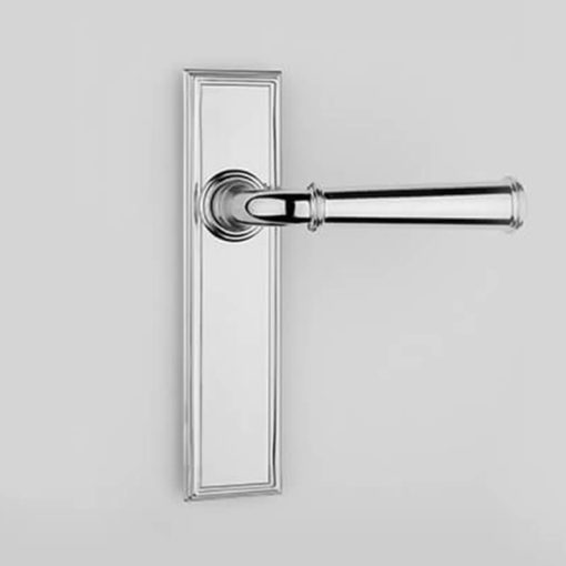 Frank Allart | Vaucluse Door Lever On Backplate | Gregory Croxford Living