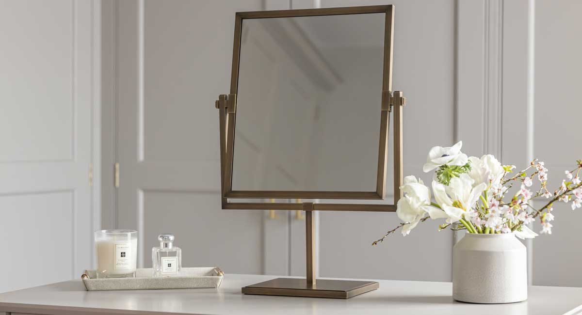 Somerville Residence Clarement-Dressing-Table-Mirror
