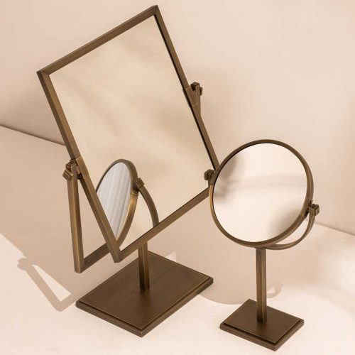 Claremont dressing table and vanity mirror